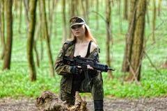 στρατιωτικός προκλητικό&si στοκ φωτογραφία