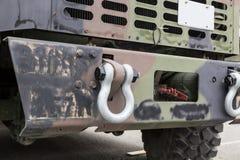 Στρατιωτικός προφυλακτήρας φορτηγών στοκ φωτογραφία με δικαίωμα ελεύθερης χρήσης