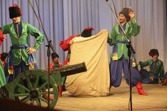 Στρατιωτικός χορός στοκ φωτογραφία με δικαίωμα ελεύθερης χρήσης