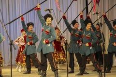 Στρατιωτικός χορός στοκ εικόνες