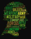 Στρατιωτικός Στοκ Εικόνα
