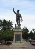 Στρατιωτικό άγαλμα στη πλατεία της πόλης του νομού Phillips, Helena Αρκάνσας Στοκ φωτογραφίες με δικαίωμα ελεύθερης χρήσης