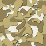 Στρατιωτικό άνευ ραφής σχέδιο κάλυψης - ημέρα στρατού - υπόβαθρο Ελεύθερη απεικόνιση δικαιώματος