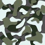 Στρατιωτικό άνευ ραφής σχέδιο κάλυψης - ημέρα στρατού - υπόβαθρο Απεικόνιση αποθεμάτων