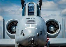 Στρατιωτικό αεριωθούμενο αεροπλάνο Στοκ φωτογραφία με δικαίωμα ελεύθερης χρήσης