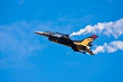 Στρατιωτικό αεροπλάνο Στοκ Εικόνες