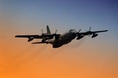 στρατιωτικό αεροπλάνο Στοκ Φωτογραφίες