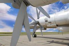 Στρατιωτικό αεροπλάνο βομβαρδιστικών αεροπλάνων Στοκ Εικόνα
