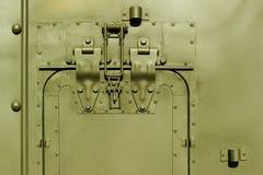 Στρατιωτικό αμάξωμα χάλυβα Στοκ Φωτογραφίες