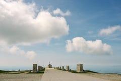 Στρατιωτικό αναμνηστικό μνημείο σε Monte Grappa Στοκ Φωτογραφίες