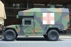 Στρατιωτικό ασθενοφόρο Στοκ Εικόνες