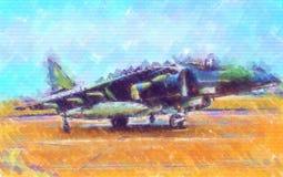 Στρατιωτικό αφηρημένο σχέδιο απεικόνισης σχεδίου τέχνης ταχύτητας αεροπλάνων Στοκ φωτογραφίες με δικαίωμα ελεύθερης χρήσης