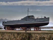 στρατιωτικό διάνυσμα πολεμικών πλοίων απεικόνισης θωρηκτών τέχνης Στοκ εικόνες με δικαίωμα ελεύθερης χρήσης