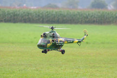 Στρατιωτικό ελικόπτερο - ελικόπτερο - στρατός - πρότυπο ελικόπτερο Στοκ εικόνα με δικαίωμα ελεύθερης χρήσης