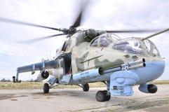 Στρατιωτικό ελικόπτερο Στοκ Φωτογραφίες