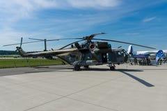 Στρατιωτικό ελικόπτερο Mil mi-171 Hippo μεταφορών Στοκ Εικόνα