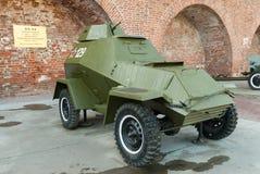 Στρατιωτικό θωρακισμένο αυτοκίνητο BA-64 Ρωσία Στοκ Εικόνα