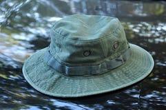 Στρατιωτικό καπέλο Boonie Στοκ Φωτογραφίες