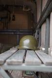 Στρατιωτικό κράνος Στοκ φωτογραφία με δικαίωμα ελεύθερης χρήσης