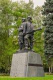 Στρατιωτικό μνημείο Στοκ φωτογραφία με δικαίωμα ελεύθερης χρήσης