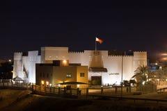 Στρατιωτικό μουσείο του Μπαχρέιν σε Riffa Στοκ Εικόνες