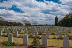 Στρατιωτικό νεκροταφείο Στοκ Φωτογραφίες