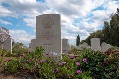 Στρατιωτικό νεκροταφείο Στοκ εικόνες με δικαίωμα ελεύθερης χρήσης
