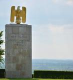 Στρατιωτικό νεκροταφείο Henri-Chapelle Βέλγιο Στοκ Φωτογραφίες