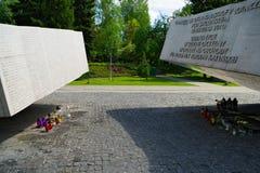 Στρατιωτικό νεκροταφείο Powazki στη Βαρσοβία, Πολωνία Στοκ Φωτογραφία