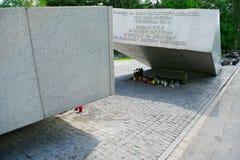 Στρατιωτικό νεκροταφείο Powazki στη Βαρσοβία, Πολωνία Στοκ Φωτογραφίες