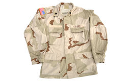 στρατιωτικό πουκάμισο σ&tau Στοκ φωτογραφία με δικαίωμα ελεύθερης χρήσης