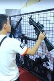 Στρατιωτικό προσωπικό όπλο Στοκ Εικόνες