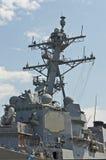 Στρατιωτικό σκάφος των ΗΠΑ Στοκ Εικόνες