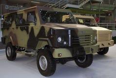 Στρατιωτικό τεθωρακισμένο όχημα Στοκ Εικόνες