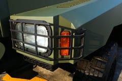 Στρατιωτικό φορτηγό Στοκ Φωτογραφίες