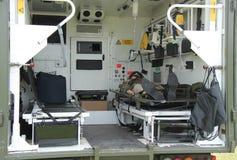 Στρατιωτικό όχημα ασθενοφόρων Στοκ εικόνα με δικαίωμα ελεύθερης χρήσης