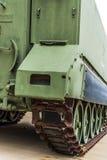 Στρατιωτικό όχημα διαδρομής στρατού Στοκ Εικόνες
