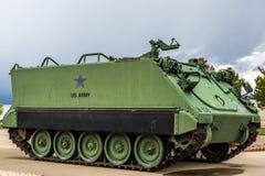 Στρατιωτικό όχημα διαδρομής στρατού Στοκ Φωτογραφίες