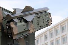 Στρατιωτικό όχημα με το μικρό βλήμα Στοκ Φωτογραφίες