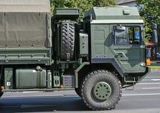 Στρατιωτικό όχημα φορτηγών Στοκ φωτογραφίες με δικαίωμα ελεύθερης χρήσης