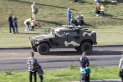 Στρατιωτικό όχημα Στοκ Φωτογραφία
