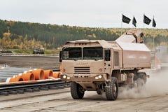 Στρατιωτικό όχημα mzkt-600100 φορτίου Στοκ εικόνα με δικαίωμα ελεύθερης χρήσης