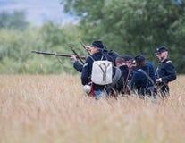 Στρατιώτες ένωσης Στοκ εικόνες με δικαίωμα ελεύθερης χρήσης