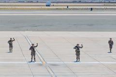 Στρατιώτες αμερικανικού Στρατεύματος Πεζοναυτών Στοκ Εικόνα