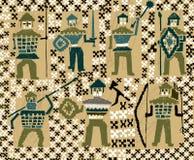 Στρατιώτες Βίκινγκ Στοκ εικόνα με δικαίωμα ελεύθερης χρήσης