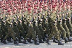 στρατιώτες κατάταξης Στοκ Εικόνα