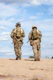 Στρατιώτες ομάδας ειδικών δυνάμεων αμερικάνικου στρατού Στοκ Φωτογραφίες