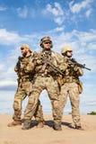 Στρατιώτες ομάδας ειδικών δυνάμεων αμερικάνικου στρατού Στοκ Εικόνες