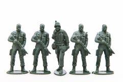 Στρατιώτες παιχνιδιών Στοκ Φωτογραφία