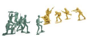 Στρατιώτες παιχνιδιών Στοκ φωτογραφίες με δικαίωμα ελεύθερης χρήσης